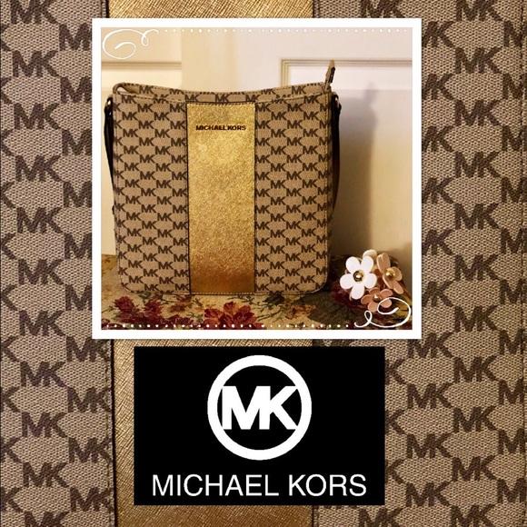 c630f59a28c405 Michael Kors Bags   New Center Stripe Large Messenger Bag   Poshmark
